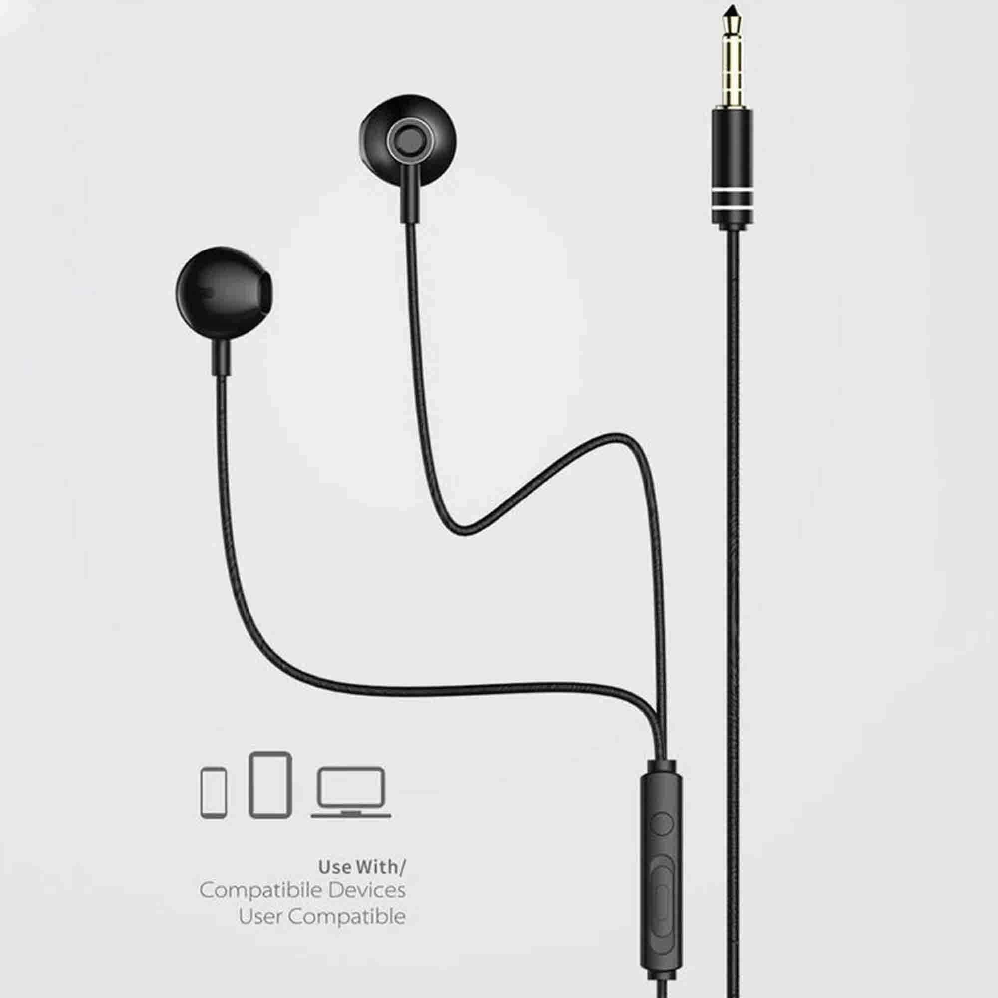 Original Remax RM-711 Earphone with Microphone Support Music Control for Smart phones 2.jpg