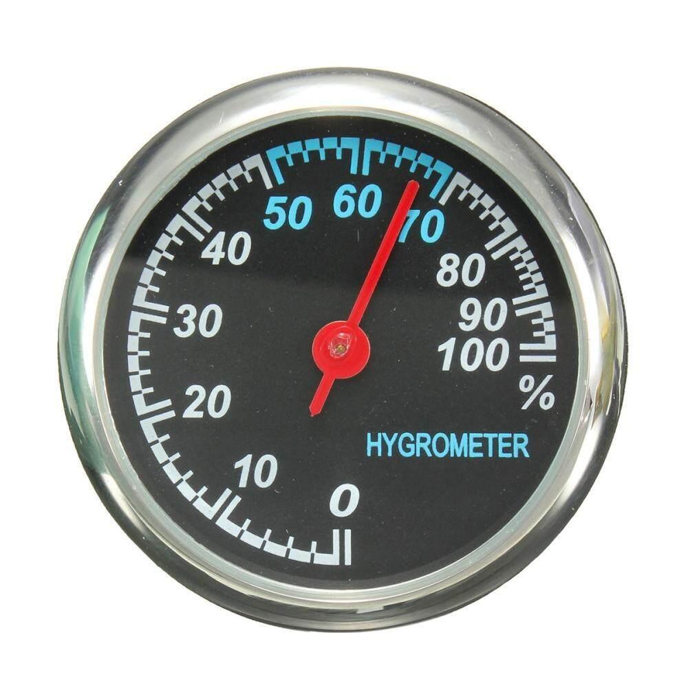 Mechanics Auto Uhr Mini Thermometer Hygrometer Clock Pointer borduhr KFZ 12V