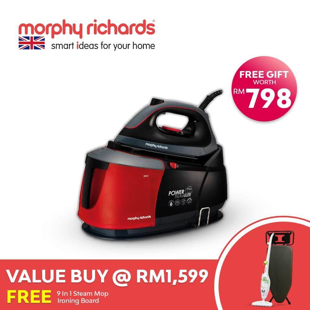 Morphy Richards Power Steam Generator Iron 332013 FREE Steam Mop & Iron  Board