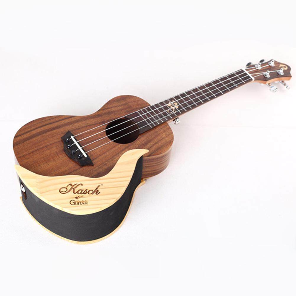 Simple Elegant Wooden Ukulele Wall Holder Small Guitar Display Stand