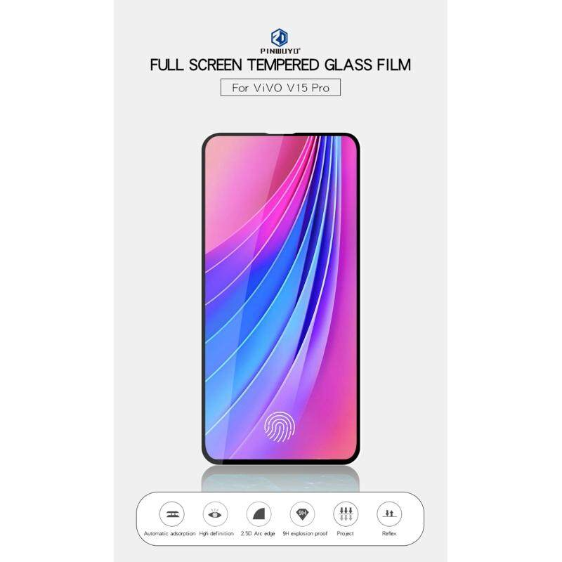 Kriss screen film for Vivo V15 Pro, Phone Film Full Screen Tempered Glass  Film Scratch Resistant HD Screen Protector
