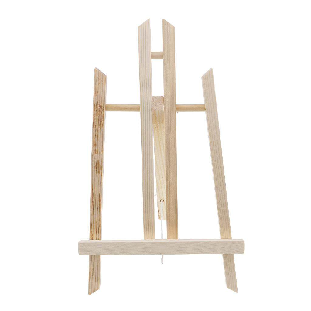 Kesoto 30cm Wooden Artist Mini Easel Stand Painting Canvas Photos Exhibit Display Holder For Wedding Party Decoration