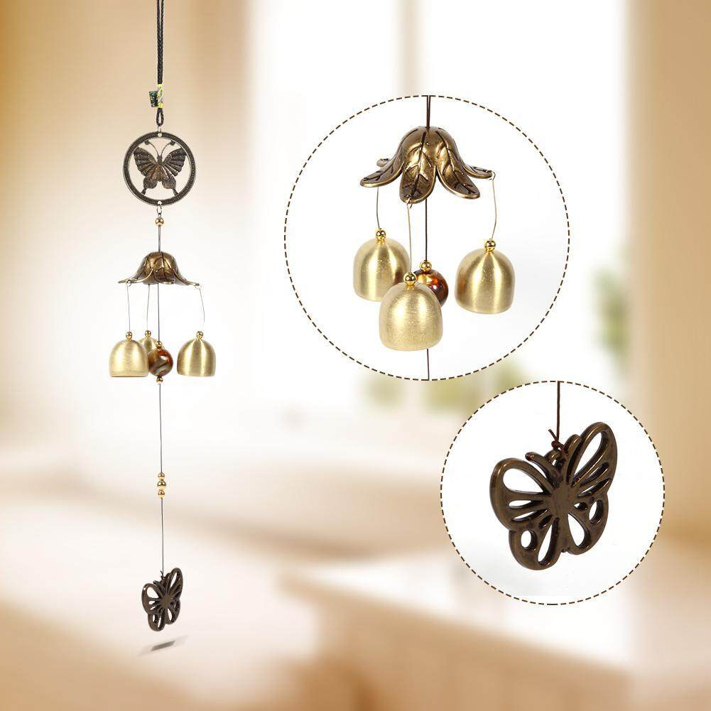 Butterfly Hanging Wind Chime Chapel Bells Wind Chimes Door Hanging Home Decor