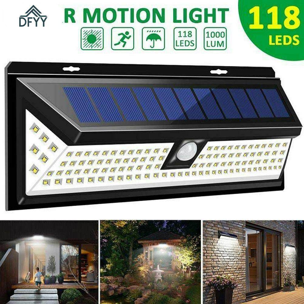Solar Ed Wall Light Motion Sensor