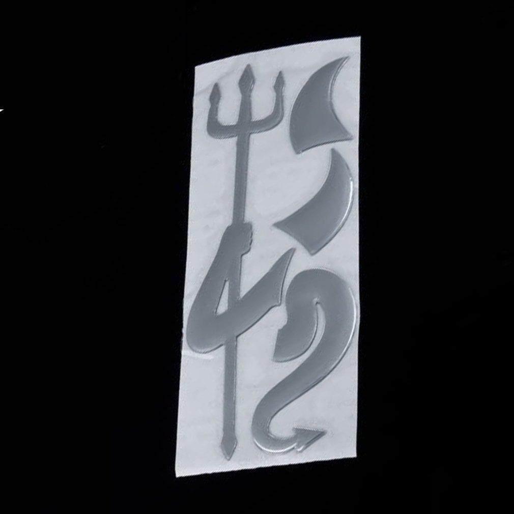 Car Auto Decoration 3D Devil Style Demon Sticker Emblem Logo Paper Decal