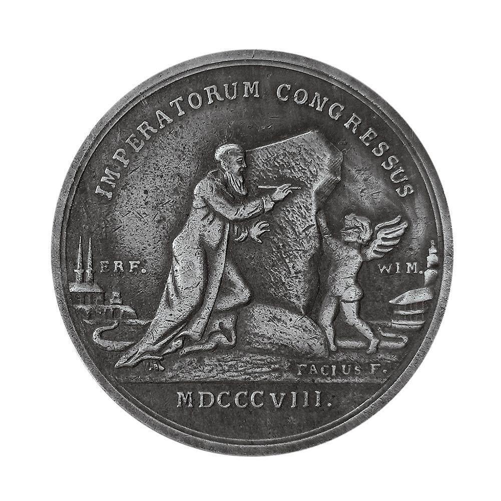 Napoleon and King Alexander Copy Coin