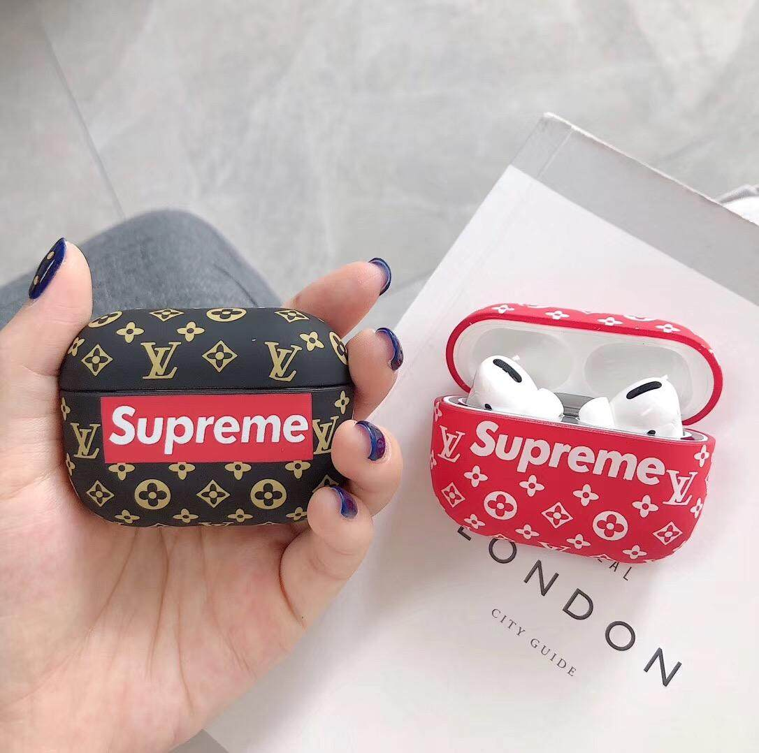 Luxury Tide Brand Case For Airpods Pro 3 Case Supreme Louis