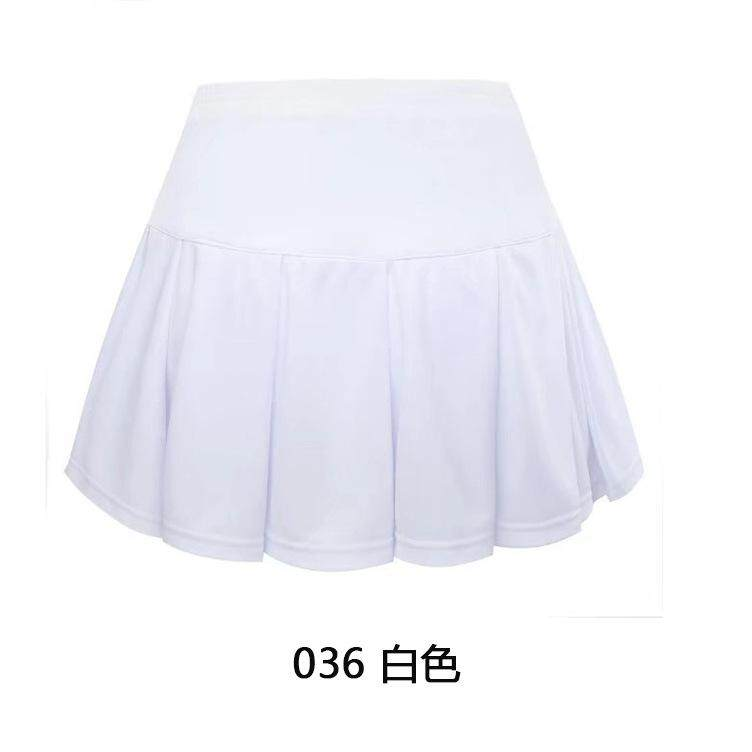 294f1d154f Women and Girls Pleated Tennis Skirt With Built-in Shorts Running ...