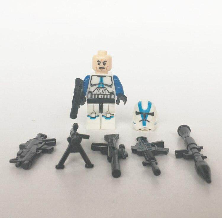 21PCS//LOT Star Wars Clone Trooper Weapons Gun Building Blocks Fit Lego Toys