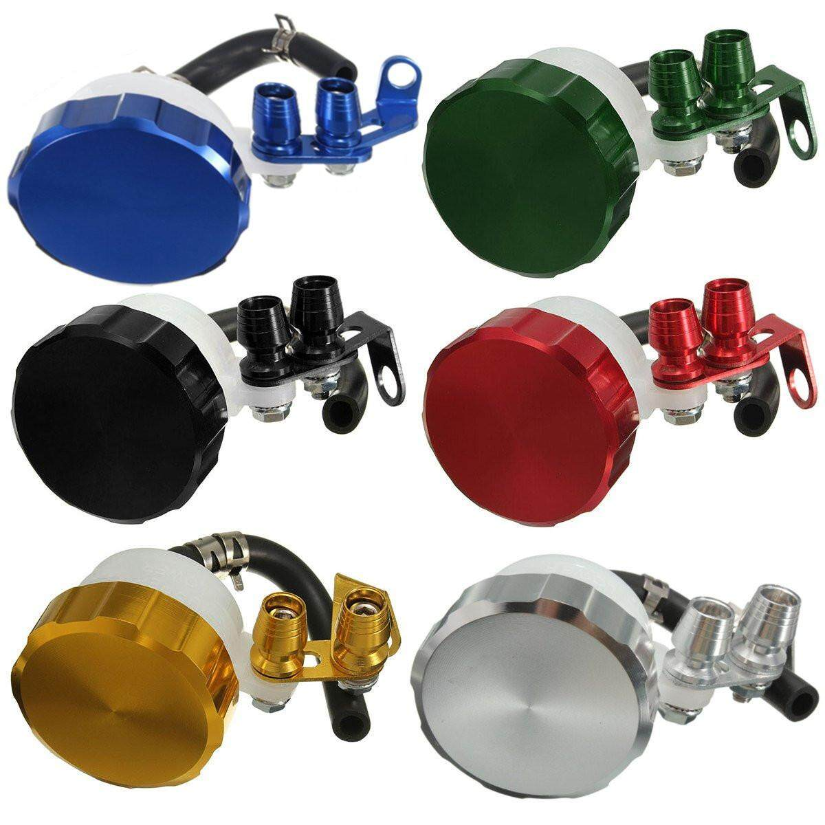 Motorcycle Oil Cylinders Reservoir Front Brake Clutch Tank Fluid Cup Can