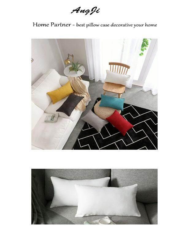 Sofa Pillowcase Core Chair Pillow Bed