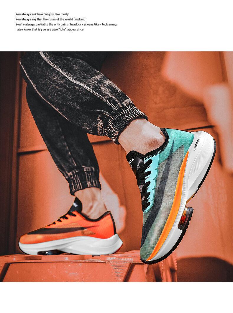 Giày Nam Rách 2 Giày Thể Thao Trang Web Chính Thức Phủ Điền Marathon Giày Chạy Bộ Rách 2 Mặt Lưới Pegasus Giày Chạy Đệm Khí Uyên Ương Nam 5