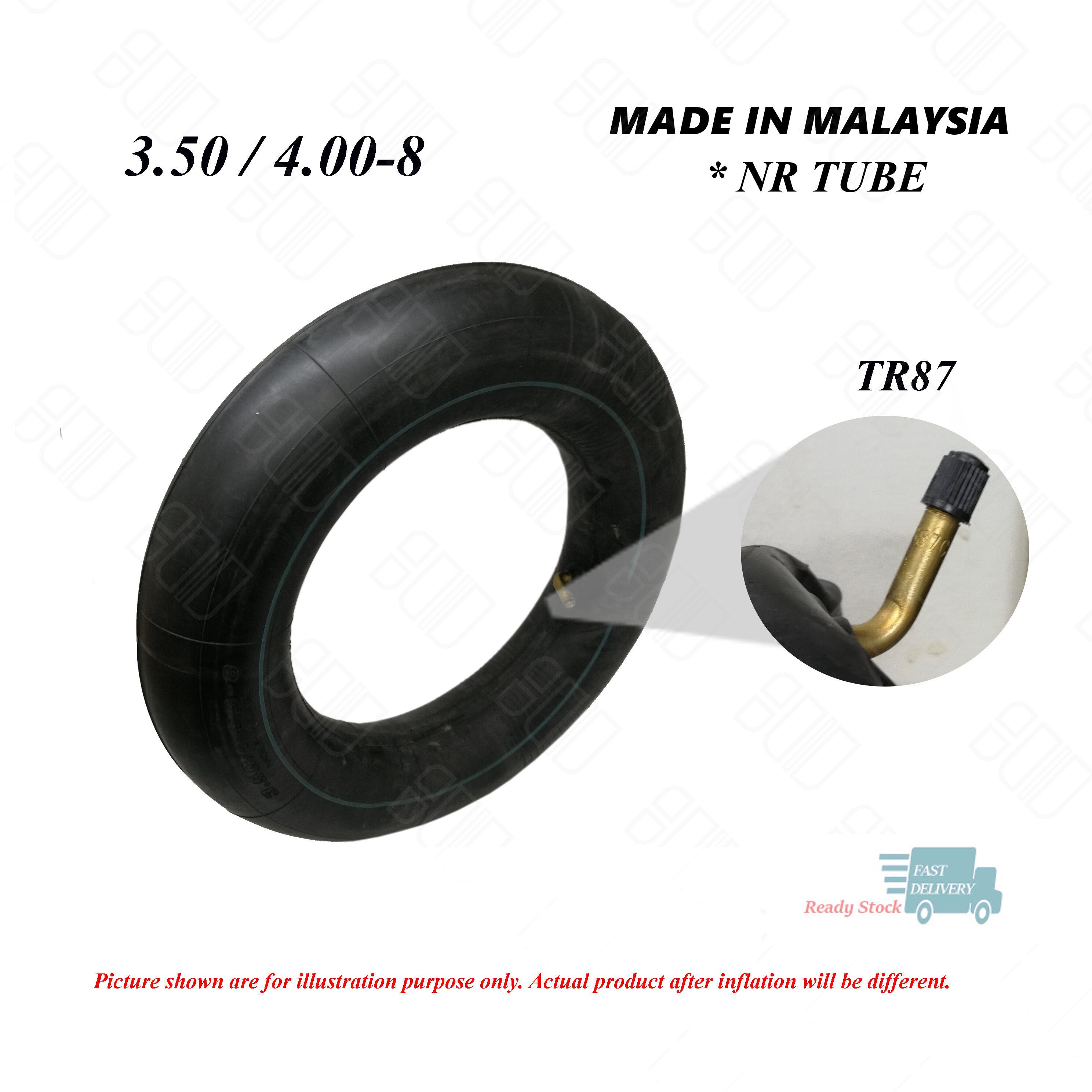 3.25-8 3.00-8 INNER TUBE TR87 STEM FOR FRONT REAR TIRE TWO 3.50-8