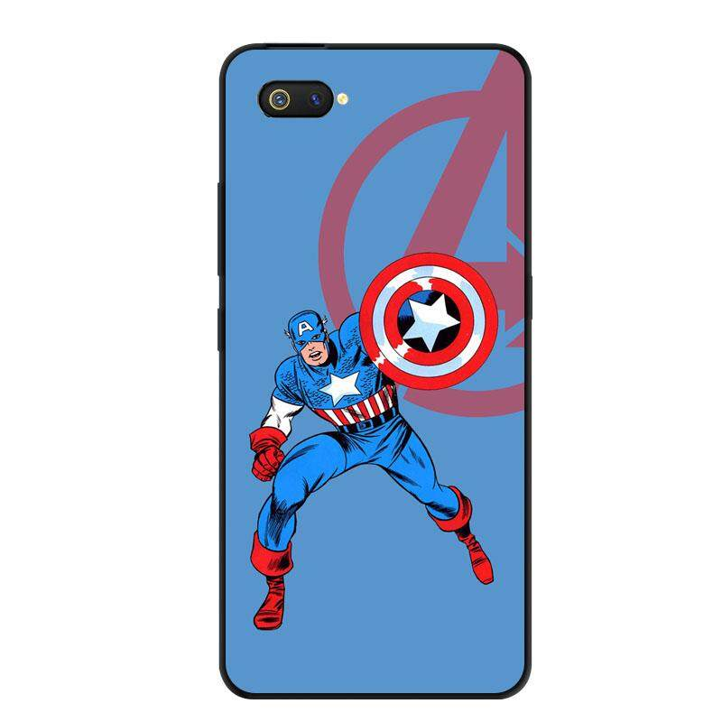 For Oppo Realme C2 Case Cartoon Soft Tpu Silicone Back Cover For