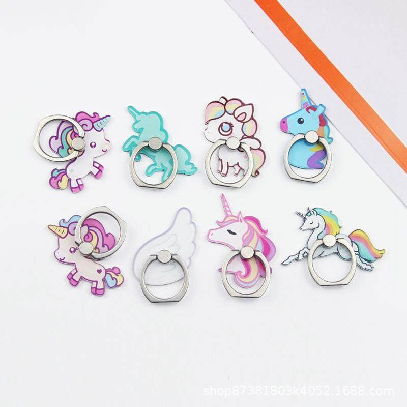 Cellphones & Telecommunications Mobile Phone Stand Holder Unicorn Finger Ring Mobile Smartphone Holder Stand For Iphone Xiaomi Huawei All Phone