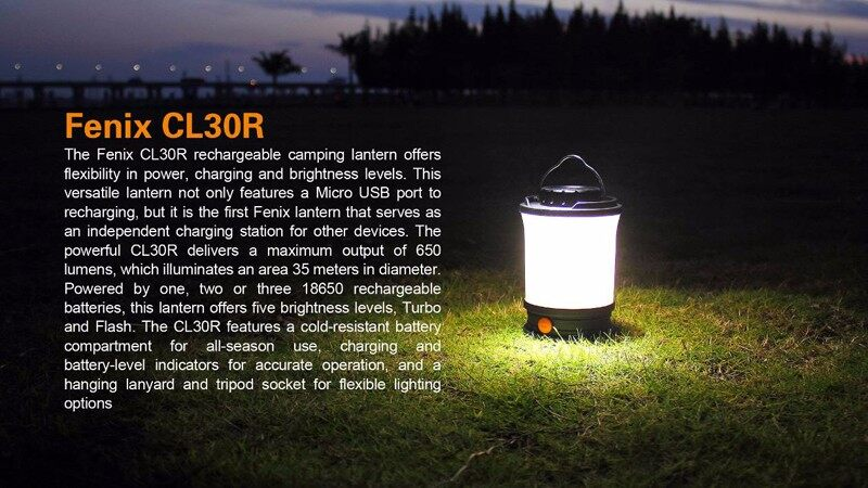 Fenix CL30R rechargeable camping lantern (8)