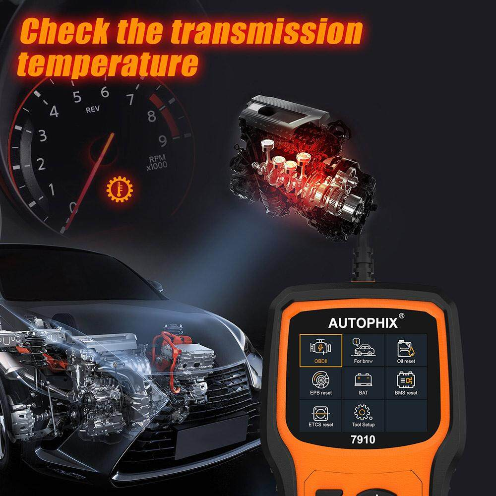 Autophix 7910 Obd2 Scanner Full System Auto Diagnostic Tool for Mini BMW  Support Airbag ABS DPF EPB Reset Oil Reset Multi System Car Code Reader  Scan