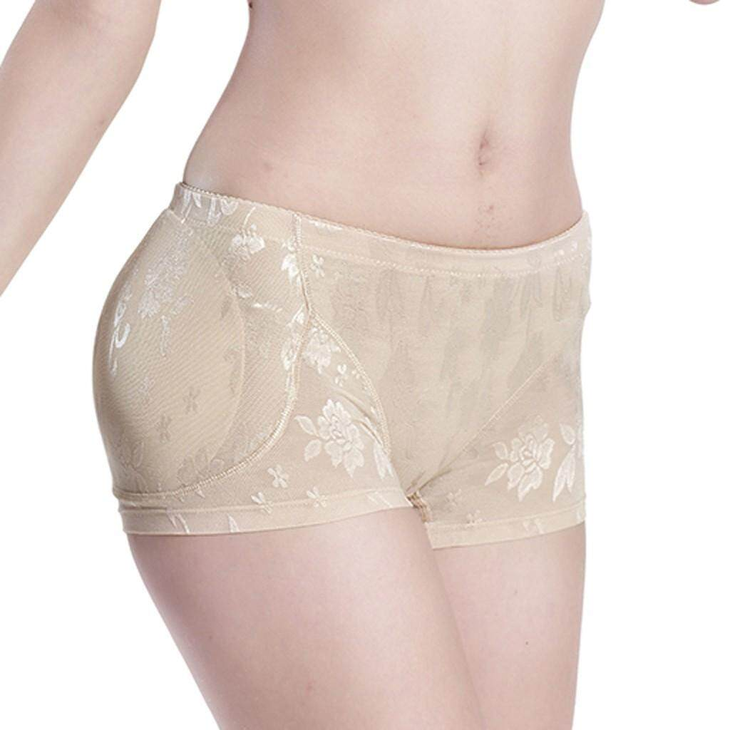 feb1025a670 Plus Size Lingerie Sexy Panties Women interior Push Up Padded Fake Ass  Underwear