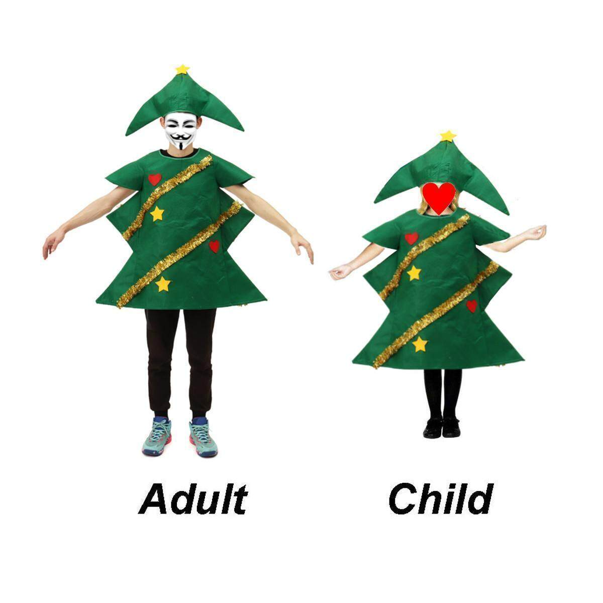 6dd220a23ac9 Product details of Adult Christmas Tree Costume Ladies Novelty Xmas Tree  Fancy Dress Outfit New#Adult