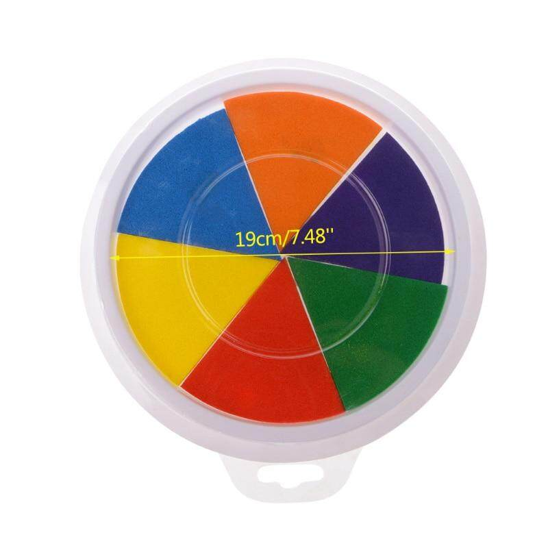 Funny-6-Colors-Ink-Pad-Stamp-DIY-Finger-Painting-Craft-Cardmaking-Large-Round-For-Kids-Learning (2)