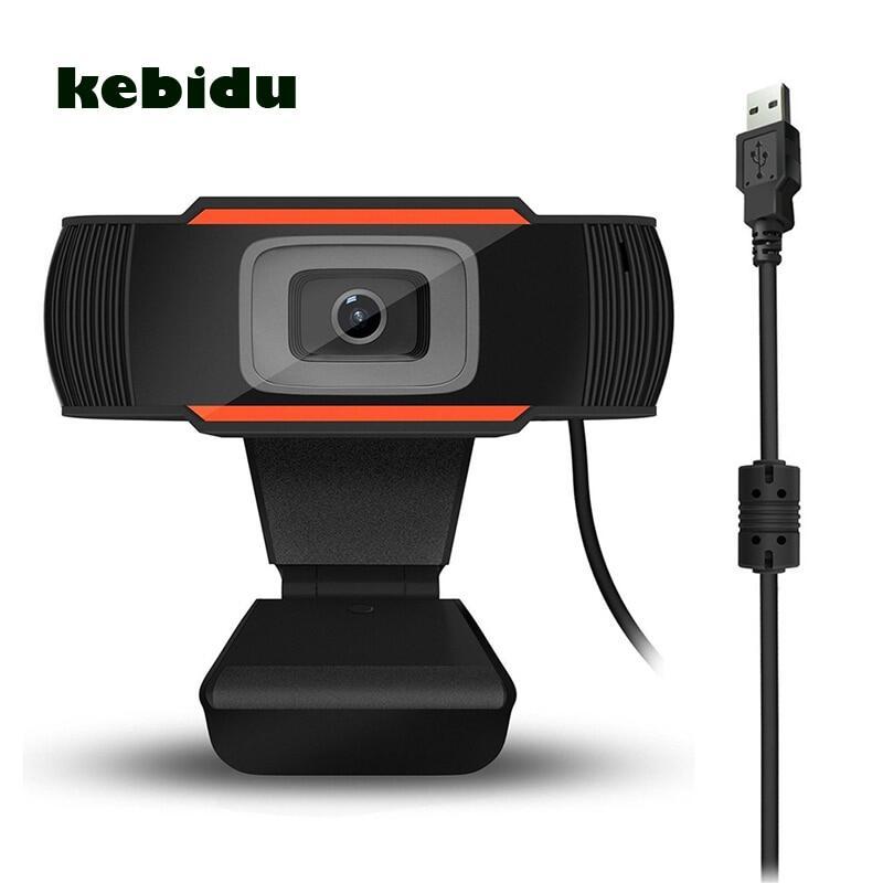 KEBETEME Webcam Độ Nét Cao 480P 720P Máy Quay USB Có Thể Xoay Ghi Video Camera Web Với Micrô Cho Máy Tính Để Bàn 3