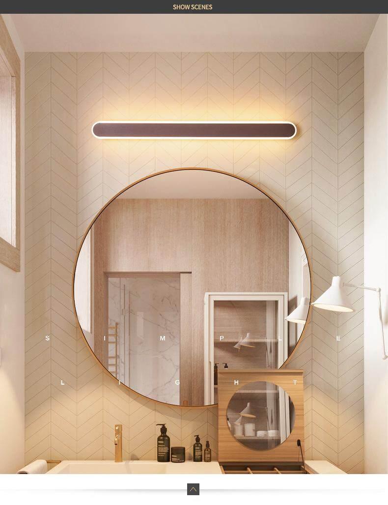 Modern Mirror Headlight Bathroom Led Mirror Lights European Wall