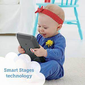 Baby's first tablet introduces letters, first words, animals and more!