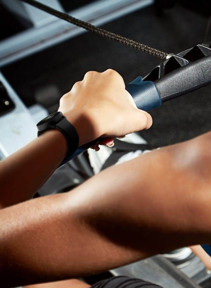 Galaxy Watch Active can automatically detect activity on the rowing machine.
