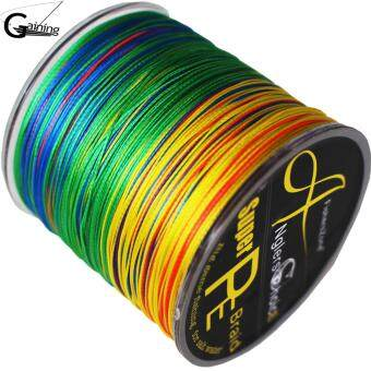 108LB 8 Strands Braided Fishing line 300m Multi Color Super StrongJapan Multifilament PE Braid Fishing line