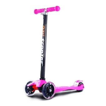 21st Height Adjustable Flash Wheels Scooter