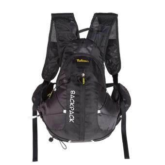 360DSC Tuban Unisex 18L Cycling Hiking Shoulder Bag Water Bladder Bag Hydration Backpack Water Pack Bag - Black