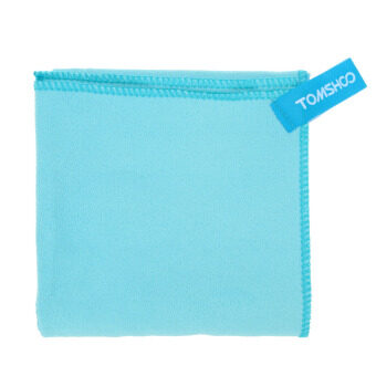 75*130cm Microfiber Quick Drying Towel Compact Travel CampingSwimming Beach Bath Body Gym Sports Towel Blue - 3