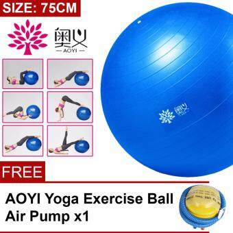 AOYI [SP27] 75cm Exercise Training Balance Yoga Ball Gym FitnessSlimming