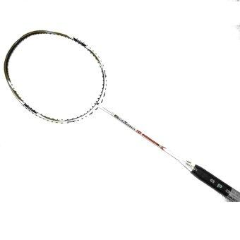 Apacs Edgesaber 10 Badminton Racket FREE String and Grip (White)