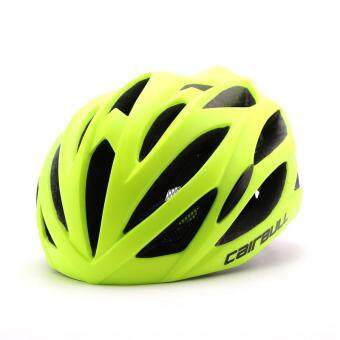 Harga Cairbull In-Mold Cycling Helmet - Matt Yellow