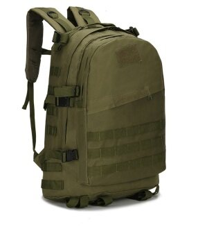 EcoSport Army Bag Military Tactical Backpack Outdoor Sport 3D Backpack (Army Green)
