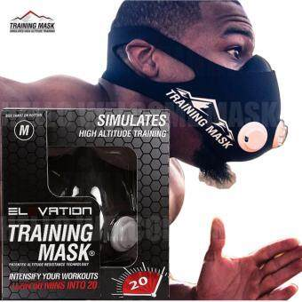 Elevation Training Mask 2.0 High Altitude Fitness Outdoor Sport 2.0Training Mask Supplies Equipment(size:M)
