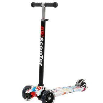 GR Scooter Height Adjustable Flash Wheels Scooter