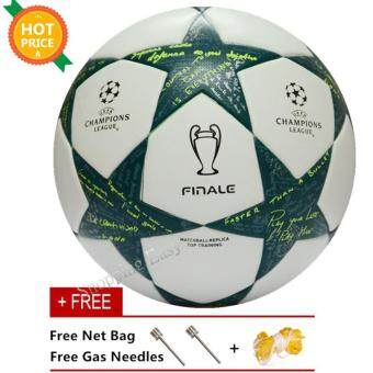 Harga Soccer Ball Professional Champions League Final Size 5 Seamless PU Training Competition Football Ball (Intl)