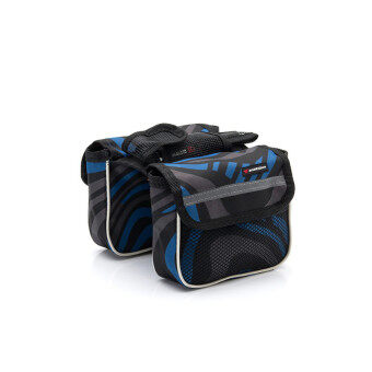 Harga Cycling Pouch Front Rainproof Bicycle Panniers Tube Bag Bicycle Accessories Bikes Basket Blue