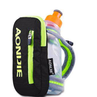 Harga AONIJIE Handheld Hydration 8.82oz Fastdraw Quickshot Bottle Pack with Bottle, Pocket Fits IPhone 6 Black_