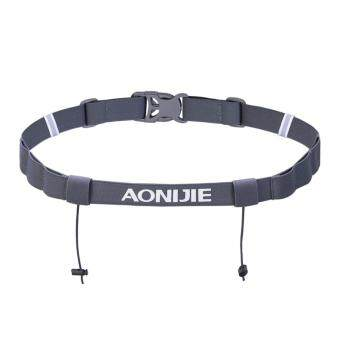 Harga Aonijie E4050 Running Marathon Belt With Number Strap & 6 Loops for Energy Gel
