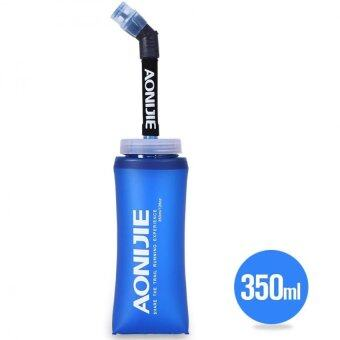 Harga AONIJIE 350ML Folding Long Straw BPA Free TPU Water Bottle Sport For Traveling Camping