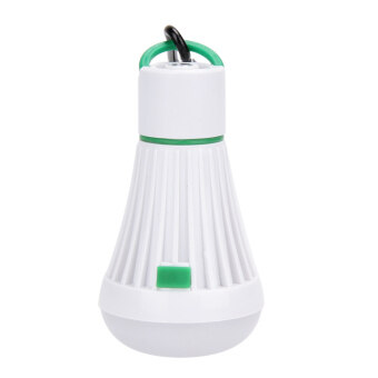 Harga LED Outdoor Light Portable Tent Night Lamp for Hiking Camping (Green)