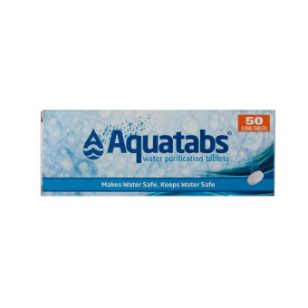 Harga Outpost Aquatabs Water Purifier Tablets 1601314 x 5 sheets