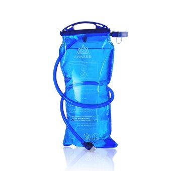 Harga AONIJIE Outdoor Cycling Running Foldable PEVA Water Bag Sport Hydration Bladder for Camping Hiking Climbing 3L