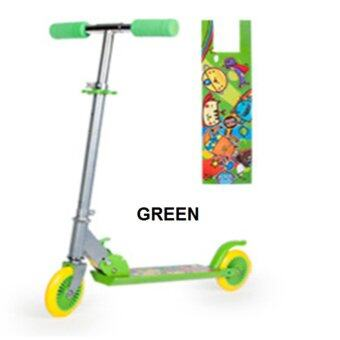 Harga Super Nice Quality Children 2 Wheels Scooters - Green