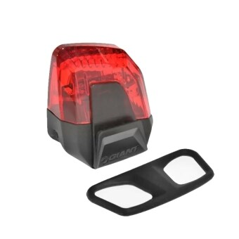 Harga Giant Bike LED Flashlight Patrol Bicycle Rear & Tail Safety Light Black (Red Color)