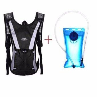 Harga 2L Water Bladder Bag Backpack + Hydration Packs Hiking Camping Cycling