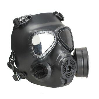 Harga HDL Gas Mask Chemical Anti-Dust Paint Respirator Mask Glasses Gameplayer Black (Intl)